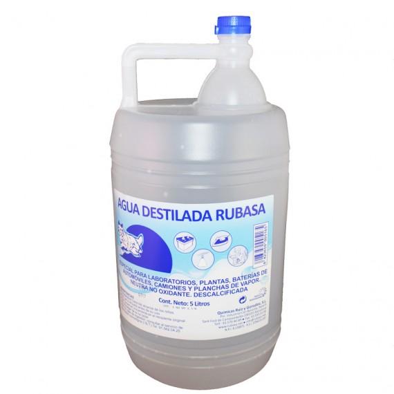 Agua destilada Rubasa